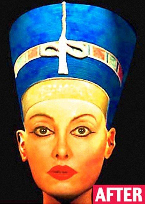 Я - царица Нефертити (5 фото)