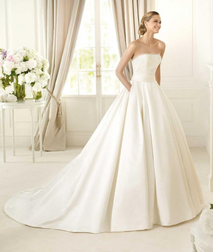Свадебные платья тренд