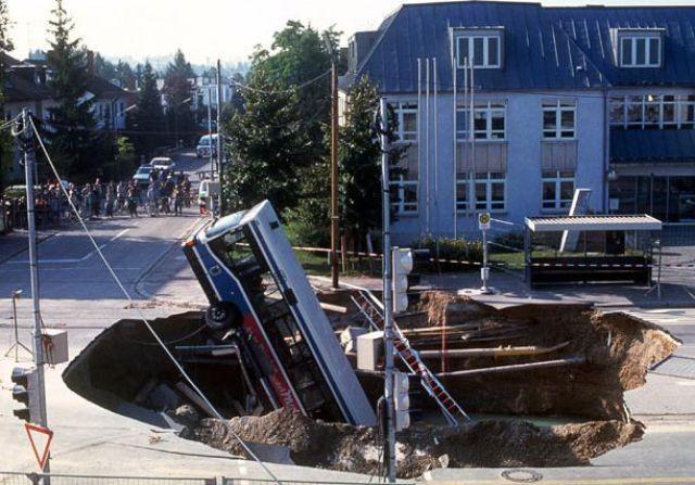 Провалы в земле (36 фото)