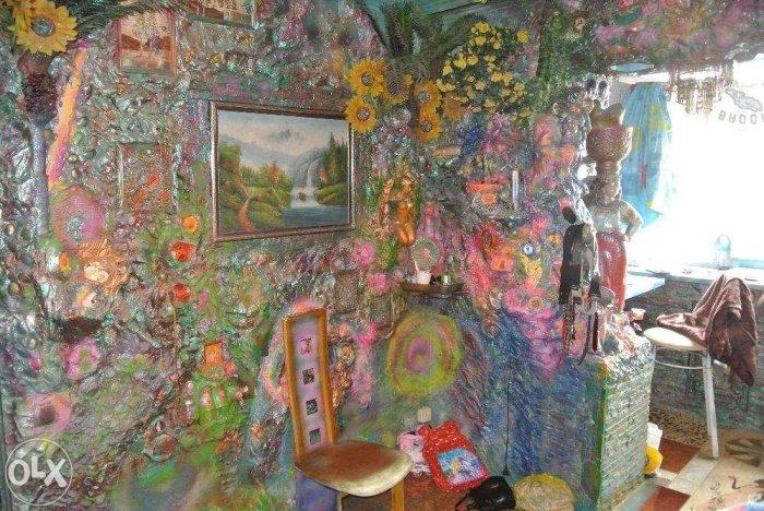 Психоделическая квартира в Киеве (10 фото)