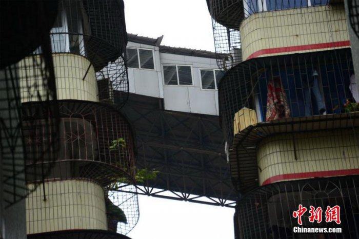 Пристройка по-китайски (5 фото)