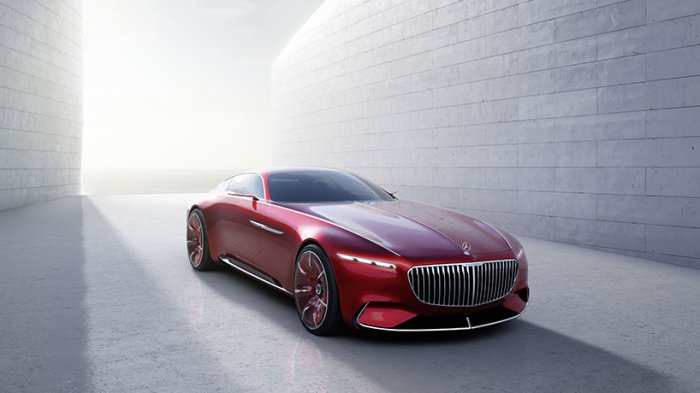1473405946 01 Vision Mercedes Maybach 6: six meters futuristic classics (8 photos)