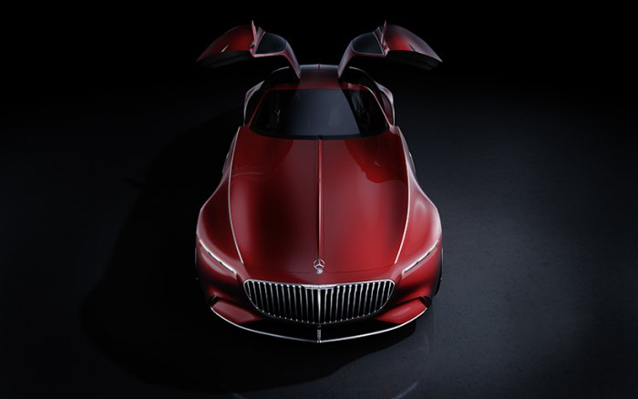 1473405958 04 Vision Mercedes Maybach 6: six meters futuristic classics (8 photos)