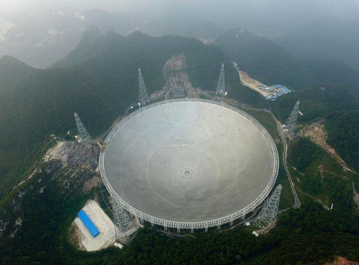Телескоп FAST: в поисках внеземных цивилизаций (13 фото)