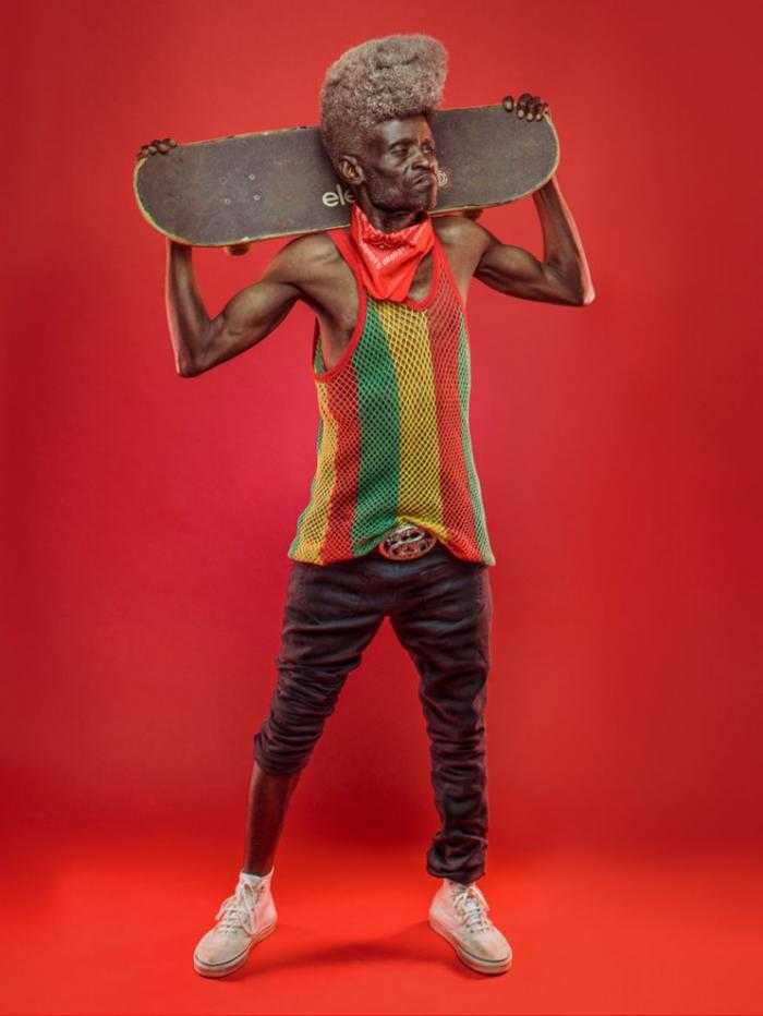 1476418189 03 Incendiary grandfather hiphopery from Nairobi (5 photos)