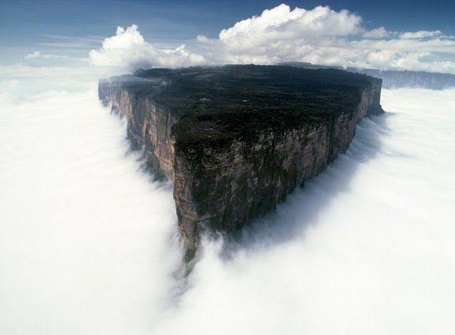 Плато Рорайма - удивительное чудо природы (46 фото