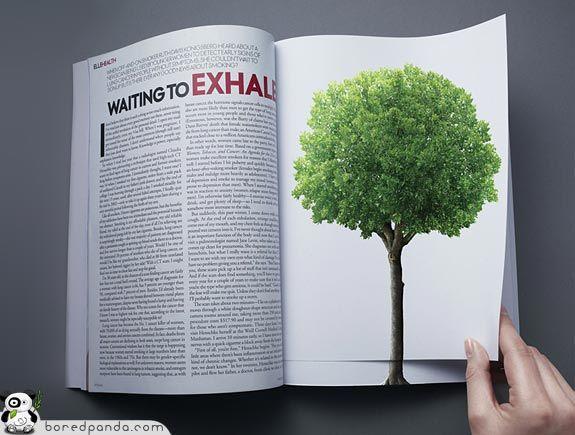 Креативная печатная реклама (38 фото)