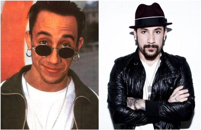 Backstreet Boys и Spice Girls тогда и сейчас (10 фото)