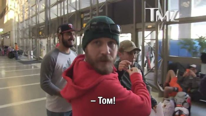 Как выглядит роспись актера Тома Харди (5 фото)