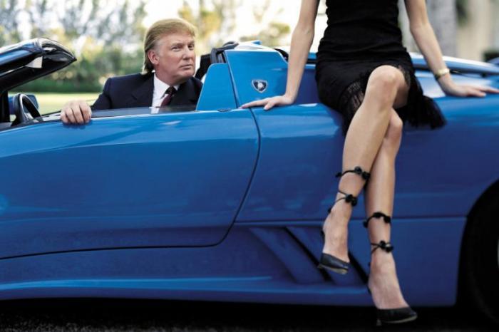 Автомобили Дональда Трампа (13 фото)