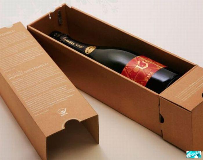 Необычная упаковка для вина своими руками 62