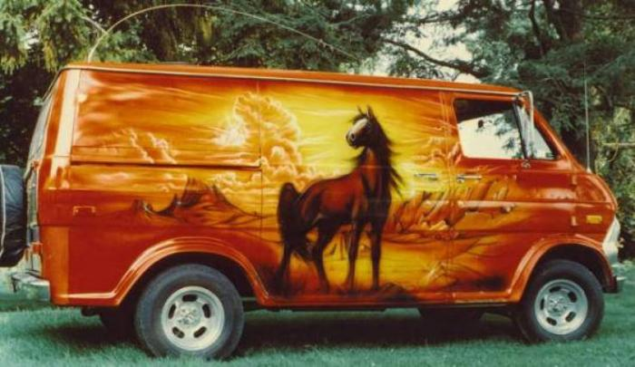 Boogie Van - безумный фургоны 70-х