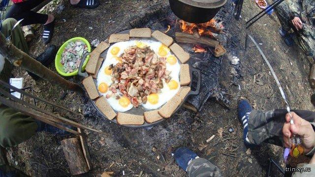 Блюда из курицы и грибами