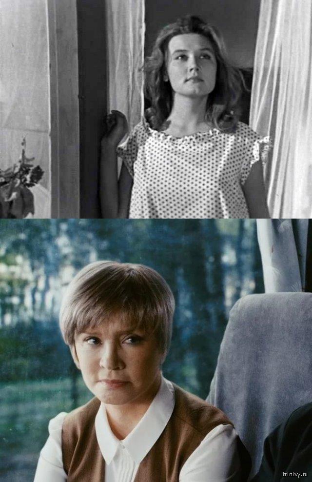 Российские актрисы в начале своей карьеры и в последних фильмах (23 фото)