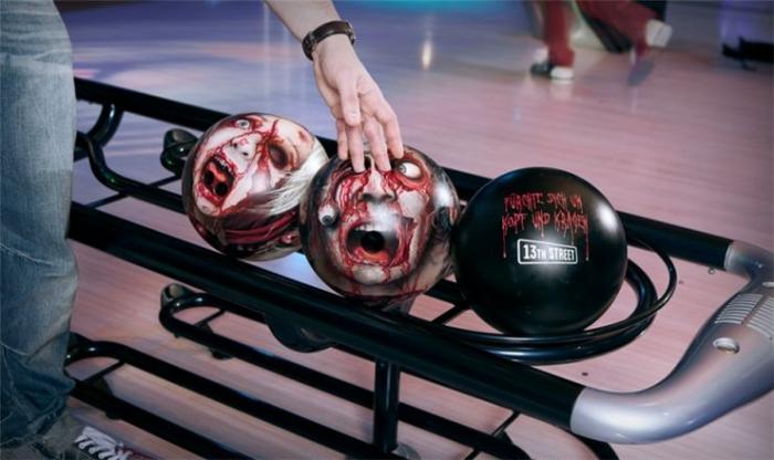 Зомби-боулинг (4 фото)