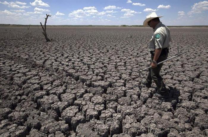 Засуха в Техасе (12 фото)