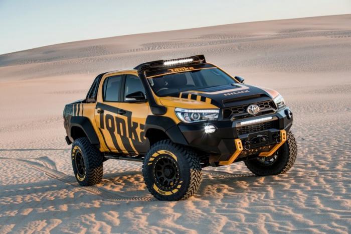 Крутая Toyota HiLux по мотивам игрушек Tonka