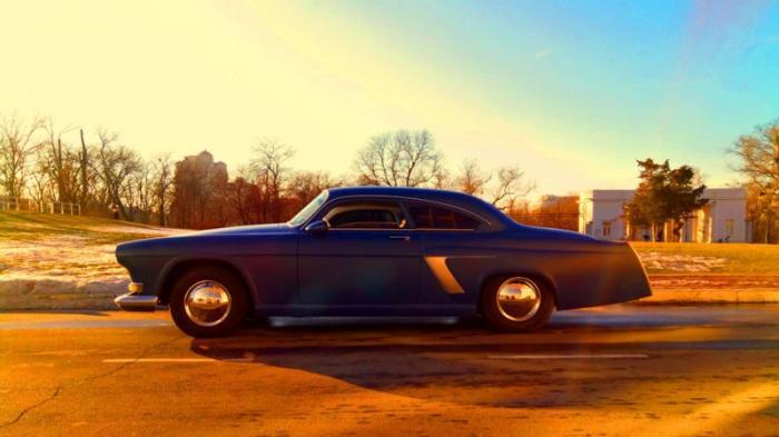 Уникальная американская 'Волга' купе из Одессы (18 фото)