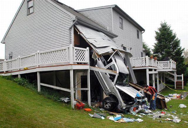Подборка подозрительных и пугающих аварий