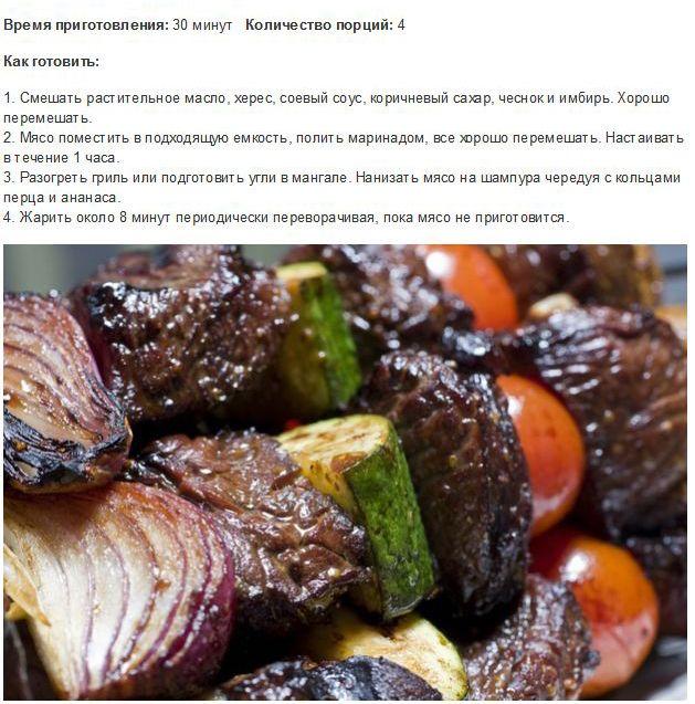 Необычные рецепты приготовления шашлыков (8 фото)