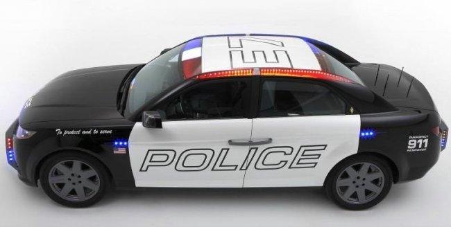 Новая машина для полиции штатов