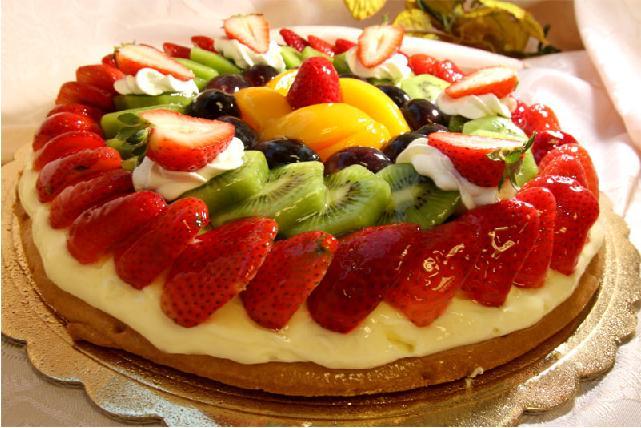 Рецепт фруктовых тортов фото
