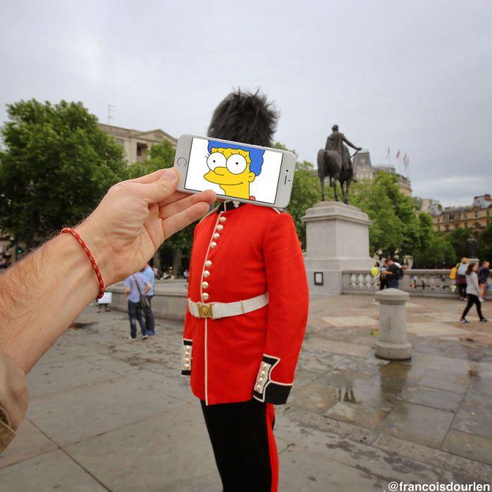 Герои «Симпсонов» в реальной жизни