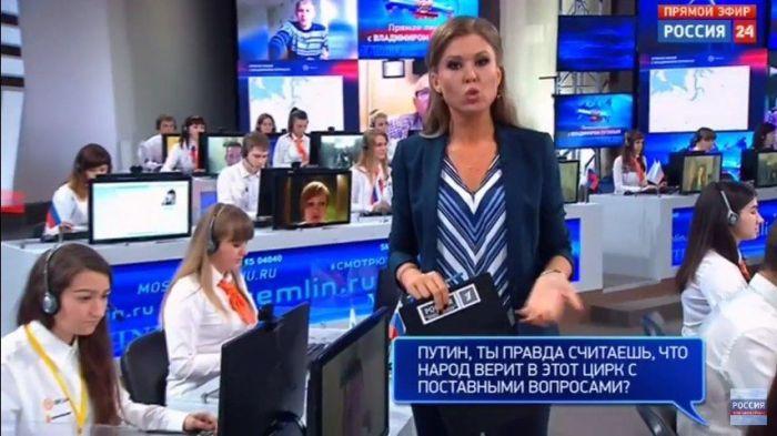 «Неудобные» вопросы, заданные Владимиру Путину (8 фото)