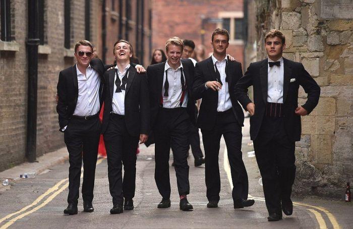 Выпускники в Кембриджском университете 2017