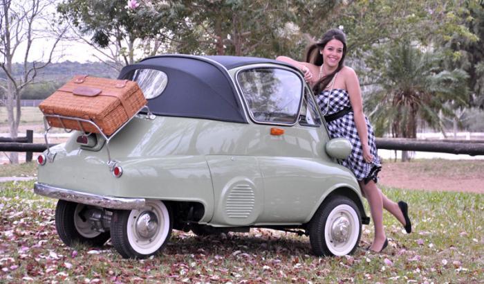 Isetta – самый мимимишный автомобиль в истории (9 фото)