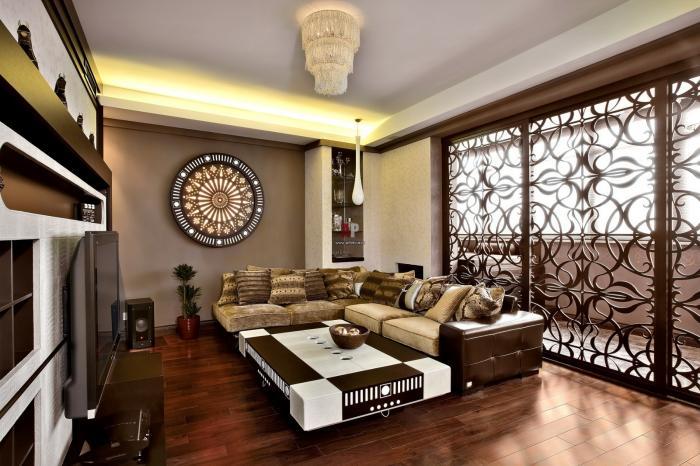 Марокканский стиль в интерьере (8 фото)