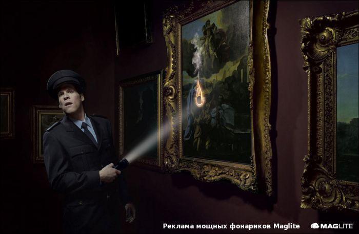 Подборка креативной рекламы (52 фото)