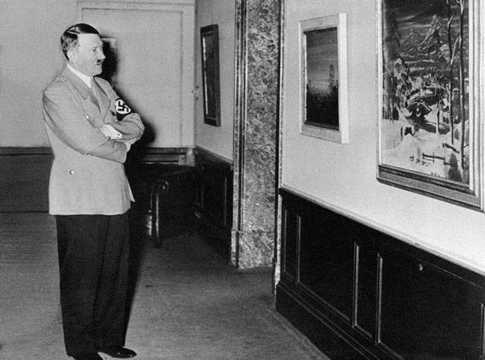 Картины Адольфа Гитлера (26 фото)
