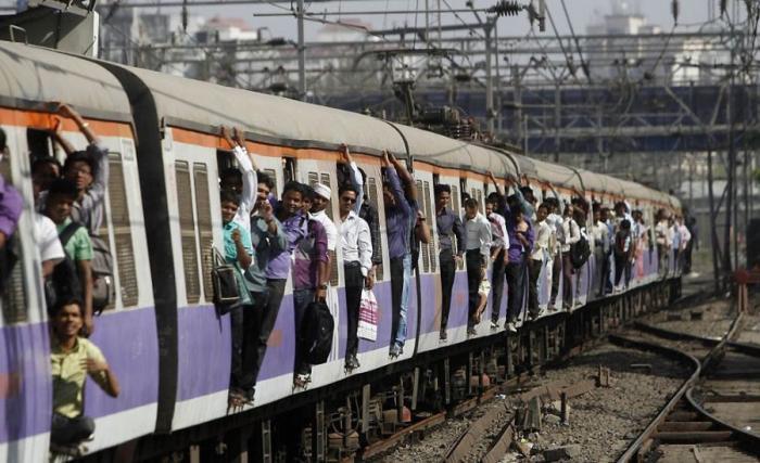 Индийская железная дорога (11 фото)