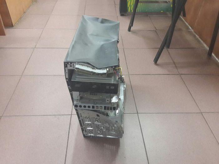 Случай из сервиса по ремонту компьютеров