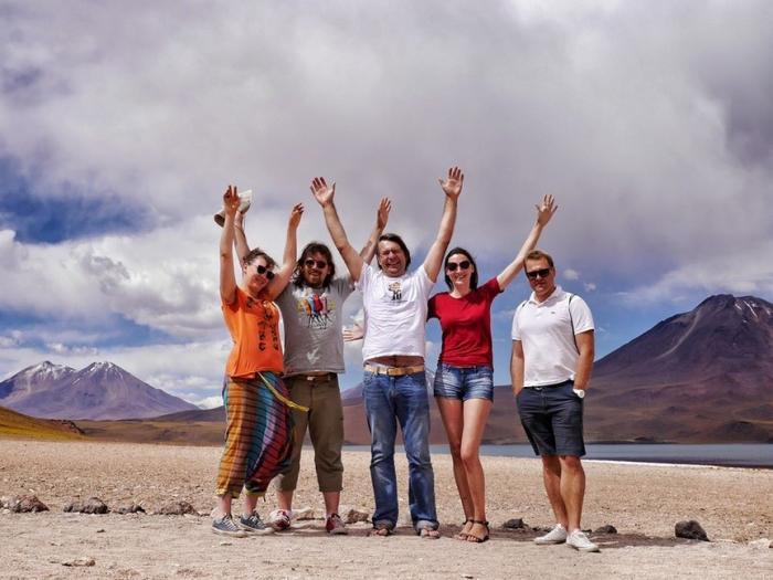 Чили. Озерный край (7 фото)