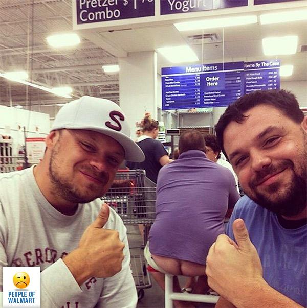 Экстравагантные покупатели Walmart (38 фото)