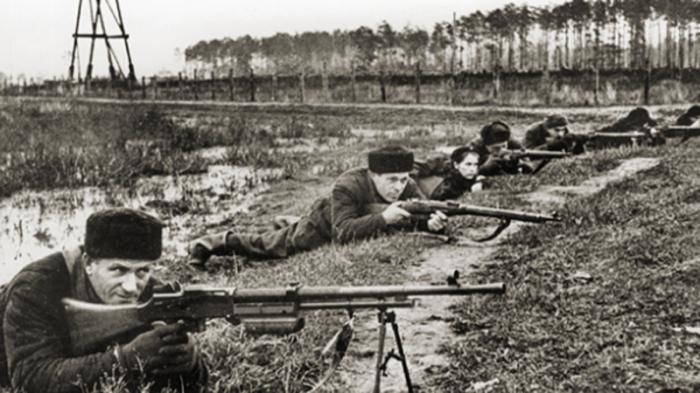 Битва за Москву 1941-го (8 фото)