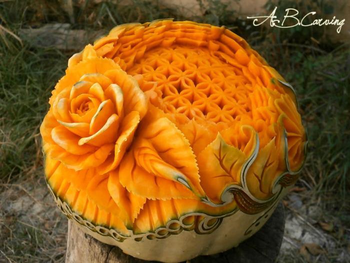 Как разнообразить классическую хэллоуинскую тыкву (19 фото)