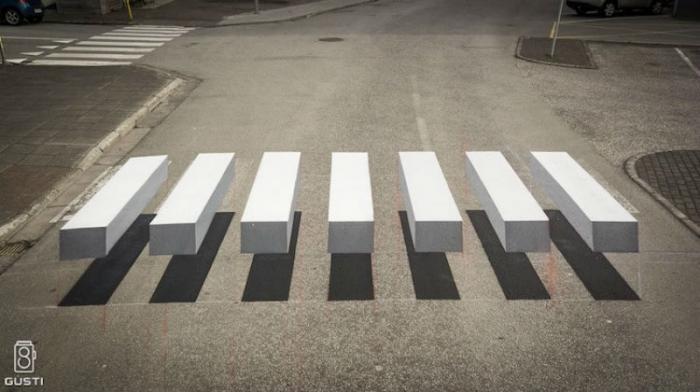 Оригинальная оптическая иллюзия (4 фото)