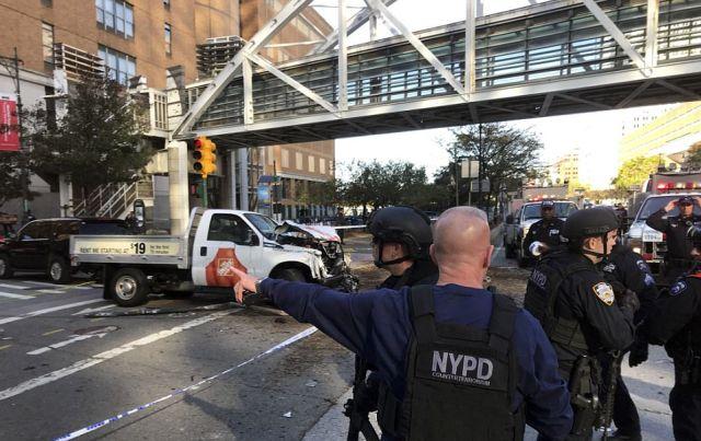 Теракт в Нью-Йорке (15 фото)