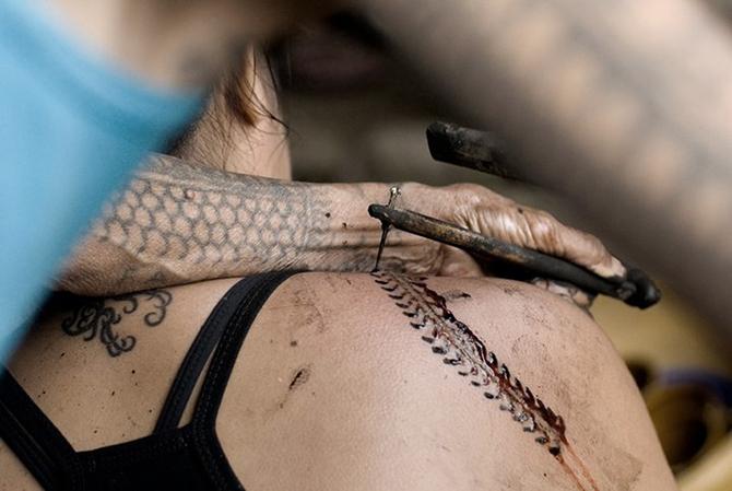 Искусство татуировки народов мира (7 фото)