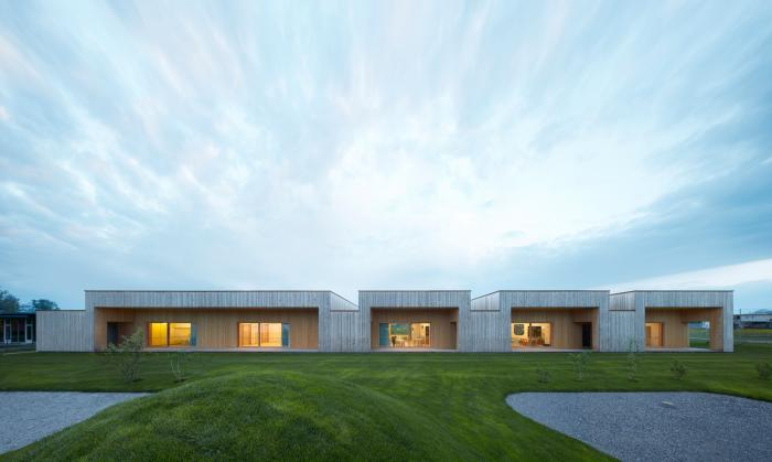 Архитектура и интерьер австрийского детского сада (12 фото)