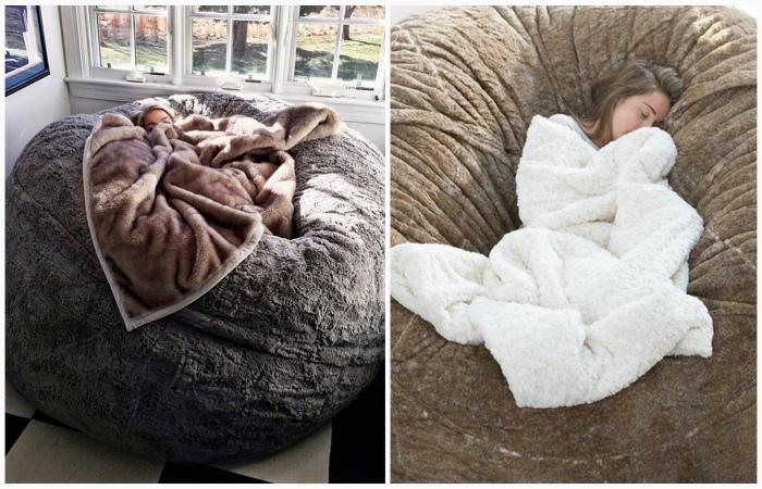 Как на облаке: подушка-гигант, покорившая интернет (6 фото)
