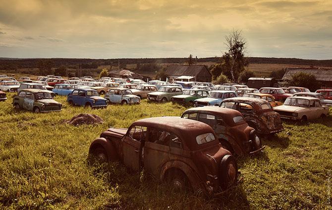 Коллекция автомобилей Михаила Красинца (19 фото)