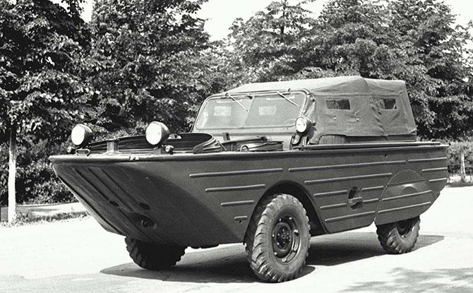 Советские водоплавающие автомобили (5 фото)