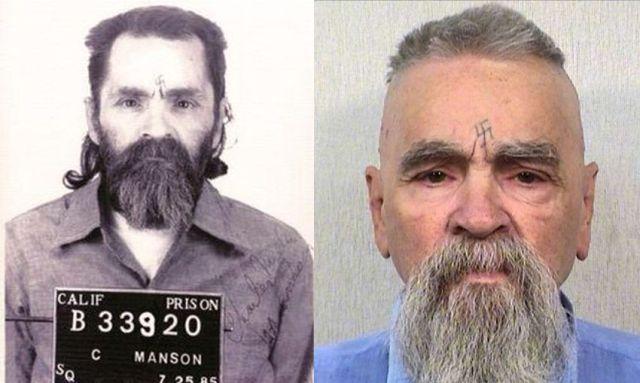 В американской тюрьме скончался серийный убийца Чарльз Мэнсон (фото)