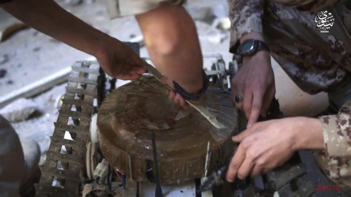 Противотанковый дрон защитников Мосула (4 фото)
