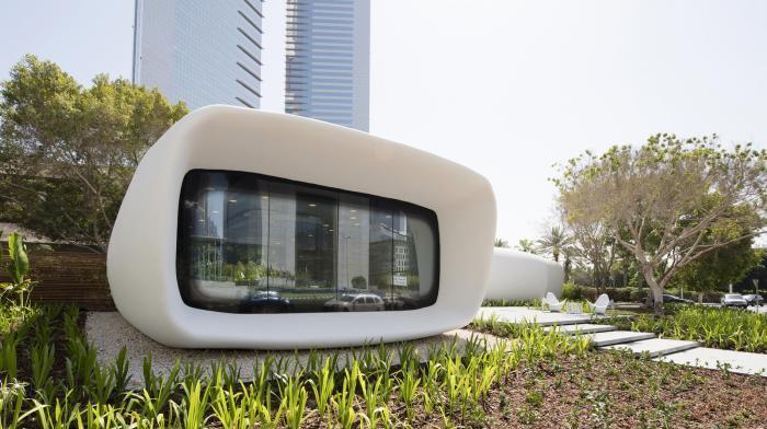 Инновационный офис будущего в Дубае (14 фото)