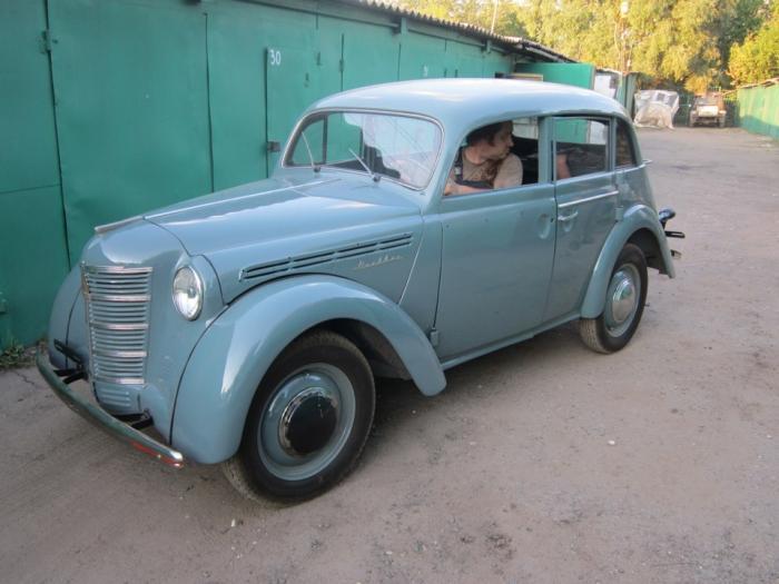 """Как отреставрировали ретроавтомобиль """"Москвич-401? (25 фото)"""